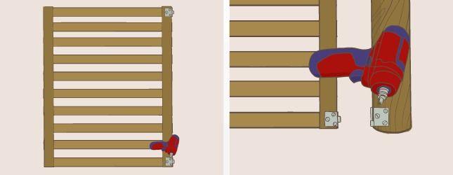 comment fabriquer un portillon en palette
