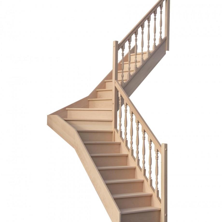 comment calculer un escalier 1/4 tournant