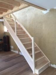 comment faire un chevetre pour escalier
